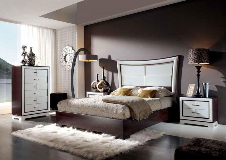 Como decorar una recamara en color cafe 15 decoracion for Interiores de recamaras