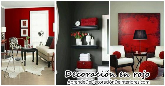 Decoración de interiores color rojo Archivos | Decoracion Interiores