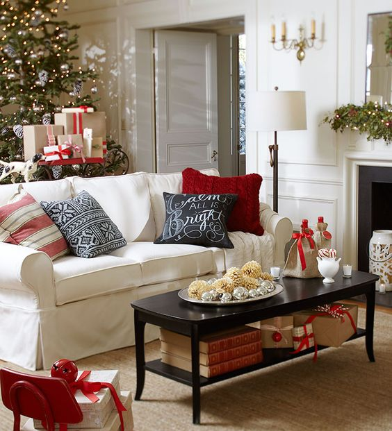 15 Ideas Para Decorar Tu Sala Esta Navidad 11 Decoracion Interiores