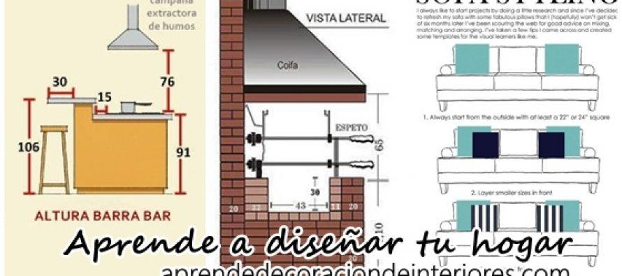 Aprende a dise ar y decorar tu hogar decoracion interiores - Disenar tu casa ...