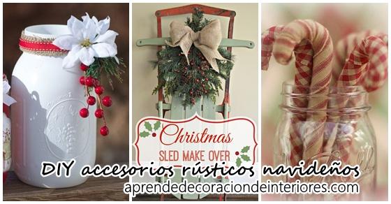 Decoracion interiores revista de decoracion de - Accesorios navidenos para decorar ...