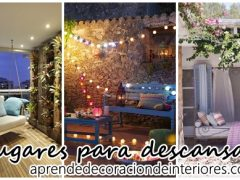 10 ideas para decorar lugares de descanso