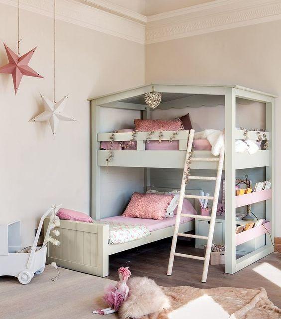 Decoración de habitaciones con literas | Decoracion Interiores