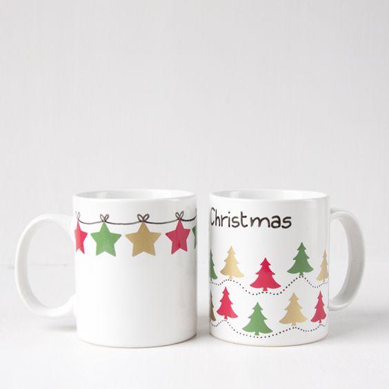 Decoracion de tazas navidenas 14 decoracion interiores - Decoracion de tazas ...