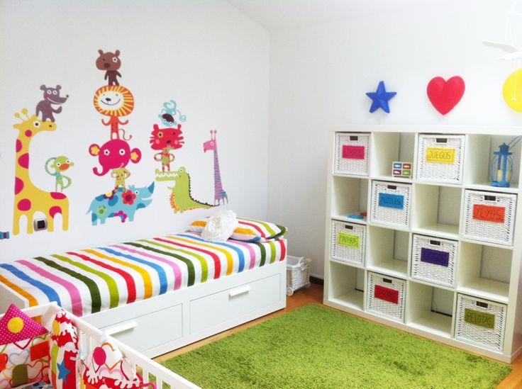 Vinilos Originales Para Habitaciones Infantiles.Infantiles Decoradas Con Vinilos Moderno Dormitorio Para Beb En
