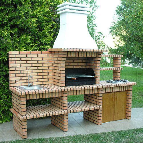 Diseno de asadores 57 decoracion interiores for Estufas de jardin