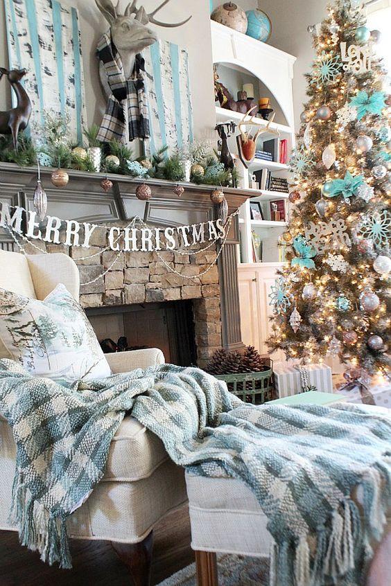 Navidad decoración por colores