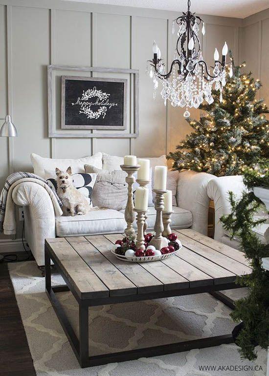 Hermosas Ideas Para Decorar Tu Sala De Estar Esta Navidad