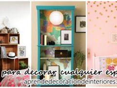 Ideas DIY pra decorar espacios