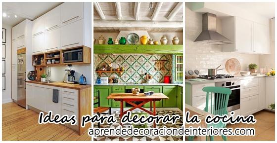 Ideas de decoración para la cocina   Decoracion Interiores