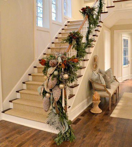 Como Decorar Mi Casa En Esta Navidad 2019.Ideas Para Decorar Las Escaleras De Tu Casa Esta Navidad