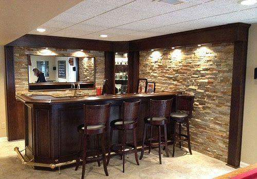 Ideas para diseno de bar en casa 18 decoracion interiores - Bar para casa ...
