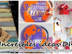 Increíbles ideas DIY para decorar tu casa