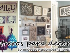Ideas para decorar con letreros