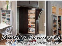 Muebles convertibles
