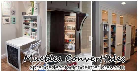 Muebles convertibles decoracion interiores for Muebles convertibles