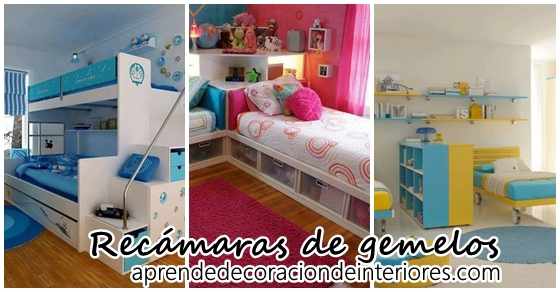 10 Ideas Para Decorar Recamaras De Gemelos Decoracion Interiores - Decoracion-de-interiores-ideas