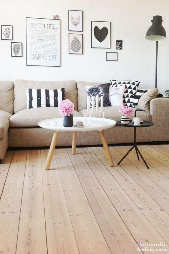 Decoración de salas de estar sencillas