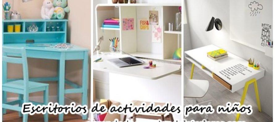 Escritorios de actividades para ni os decoracion interiores for Escritorios de ninos