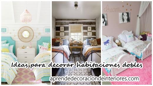 Ideas Para Decorar Habitaciones Dobles Para Ninos Decoracion - Dormitorios-dobles-para-nios
