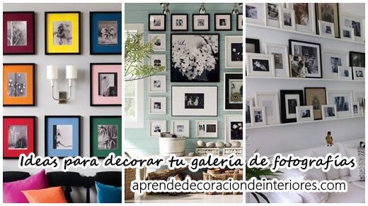Ideas Para Decorar Tu Galeria De Fotografias Decoracion Interiores - Decoracion-de-interiores-ideas