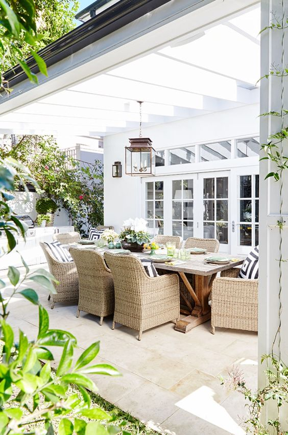 Ideas para montar un comedor en el exterior de tu casa 3 for Ideas para tu comedor