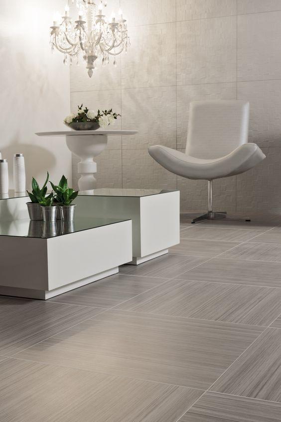 Tipos de pisos para tr fico ligero o interiores de casas for Porcelanato color marmol