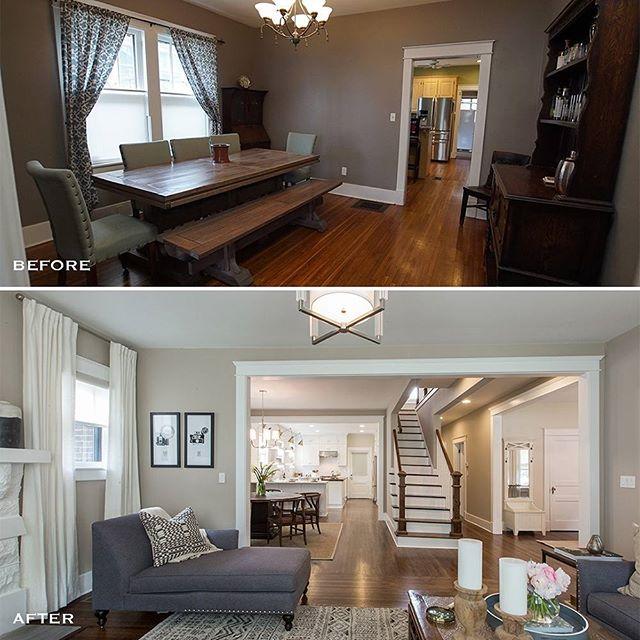 antes y despues de una casa remodelada