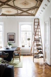 casa estilo escandinavo en su estructura
