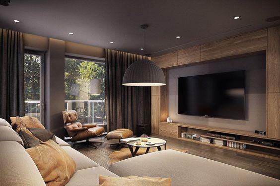 como decorar el cuarto de television 2