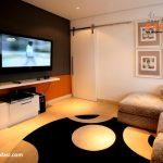 como decorar un cuarto de tv