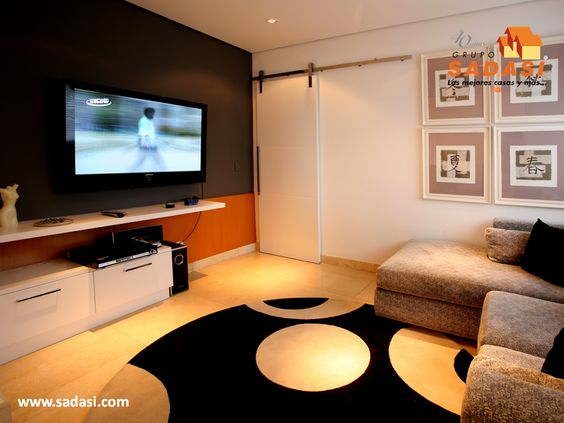 como decorar un cuarto de tv | Decoracion Interiores