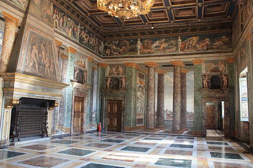 decoracion de interiores en el renacimiento romano