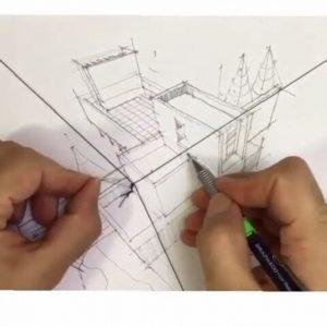 perspectiva en el diseño de interiores 4