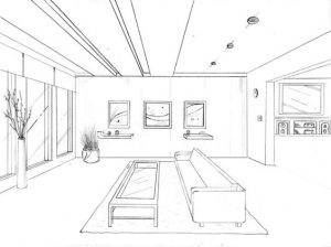 perspectiva en el diseño de interiores 5