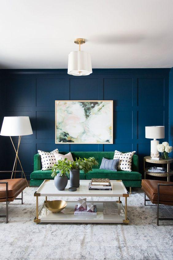 Salas Modernas 2018 Colores Adornos Para Decorar Diseños