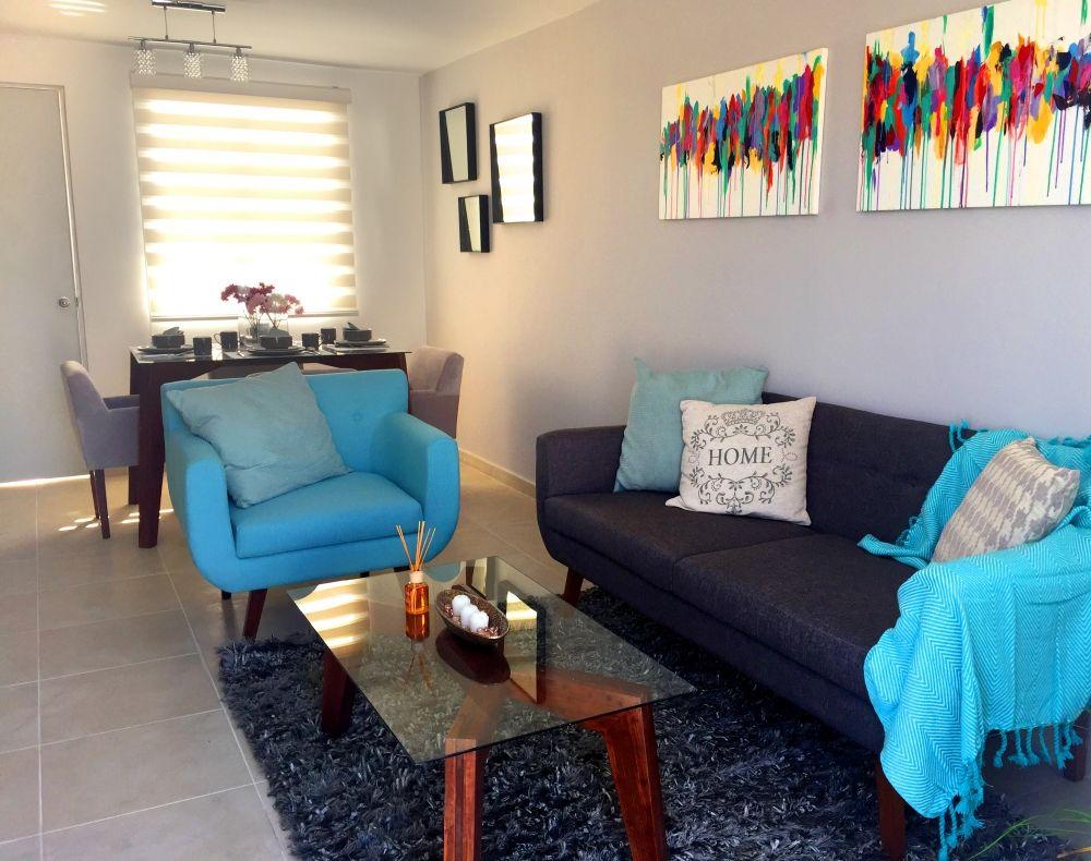 Como decorar una casa peque a de infonavit o inter s social Casa y ideas