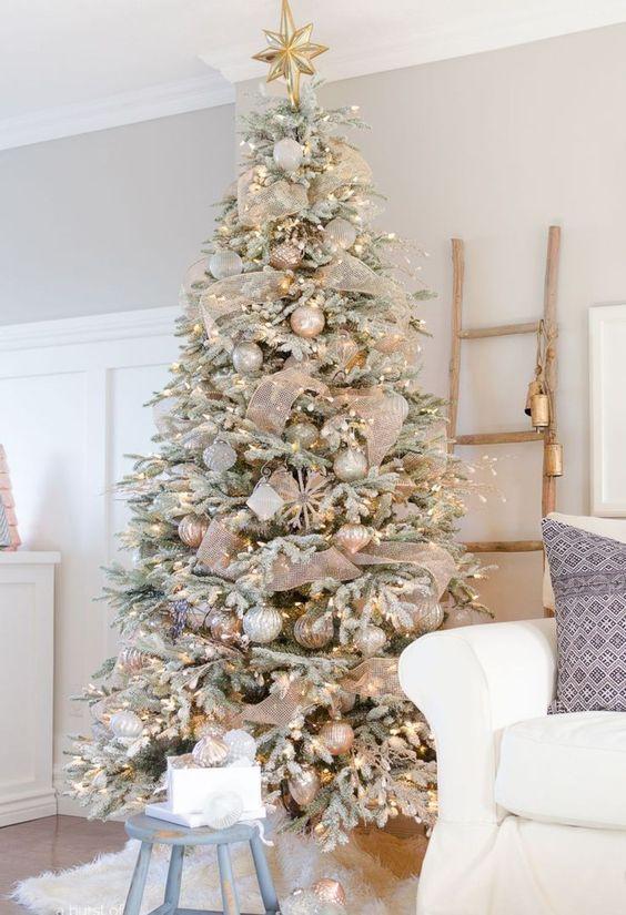 Como Decorar Mi Arbol De Navidad 2018.Arboles De Navidad 2019 2020 Tendencias Y Colores En