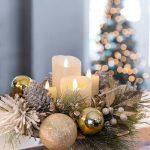 centro de mesa navideño manualidades
