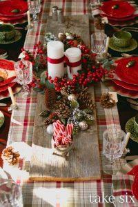 centros de mesa navideños caseros