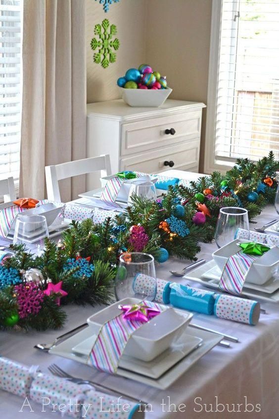 centros de mesa navideños modernos