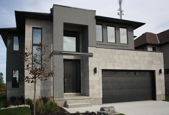 Colores de pintura para fachadas de casas modernas - Colores de fachadas de casas bonitas ...