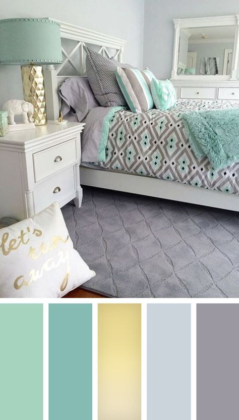 colores para habitaciones modernas