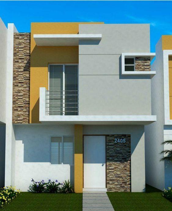 Combinación de colores para fachadas de casas