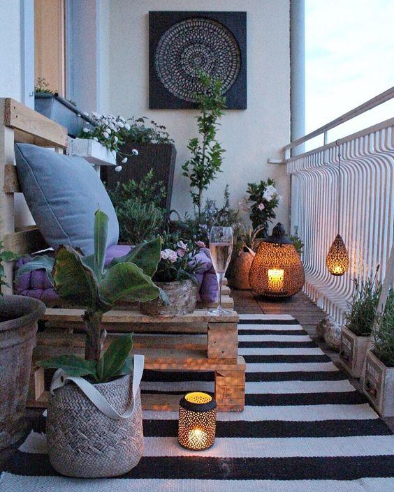decoracion de terrazas pequeñas