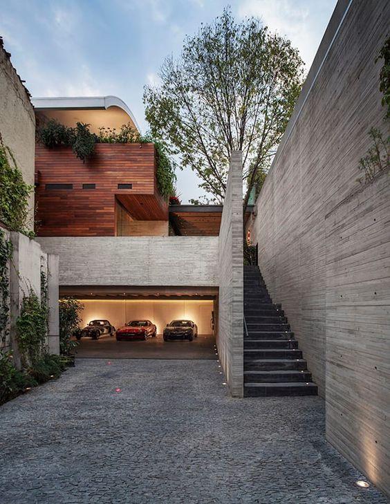 Fachadas de casas con revestimientos