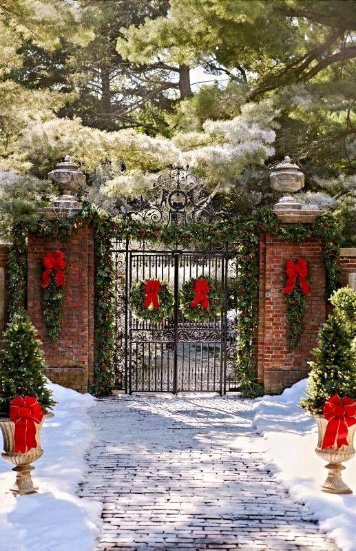 Navidad decoración para exteriores
