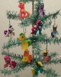 como decorar un arbol denavidad inspirada en my little pony