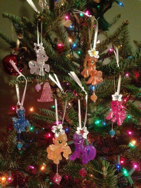 esferas navideñas de my little pony