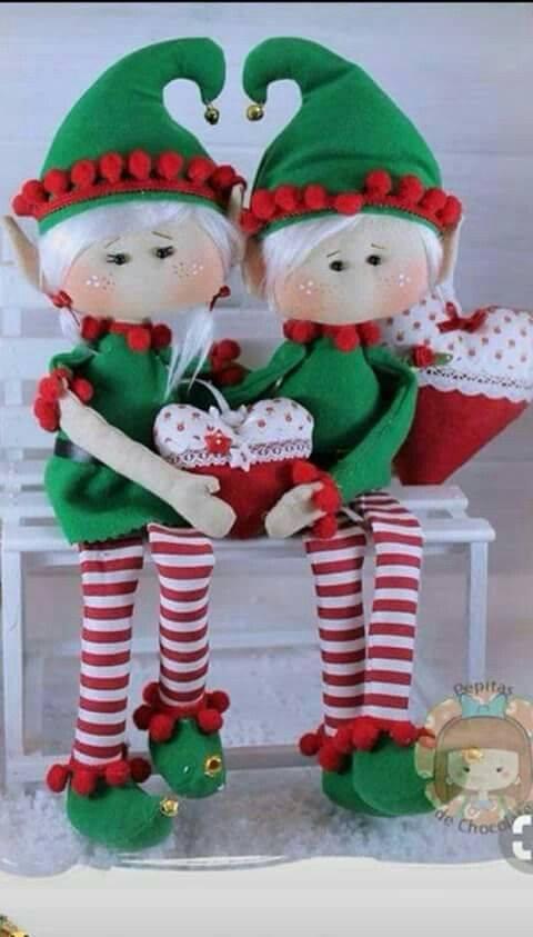 manualidades de fieltro para navidad gratis